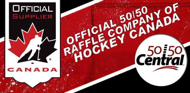 5050 Central Named Official 50/50 Raffle Company of Hockey Canada