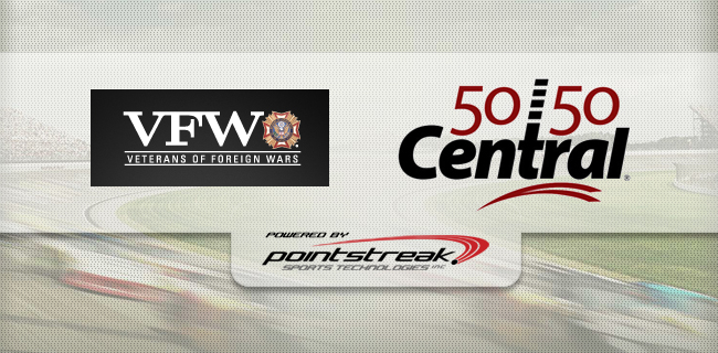 The VFW Foundation Goes Full Throttle with 5050 Central during VFW 200 Race Weekend at MIS