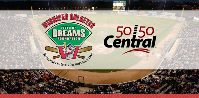 The Winnipeg Goldeyes Field of Dreams Foundation and 5050 Central set to hit a Home Run