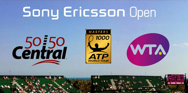 The ATP and WTA Tennis Tours Serve Up 5050 Central in Miami