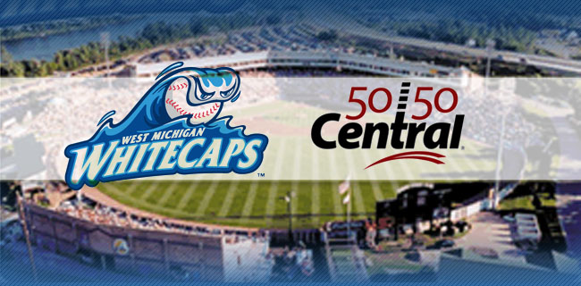 West Michigan Whitecaps and local charities set to hit home run with 5050 Central